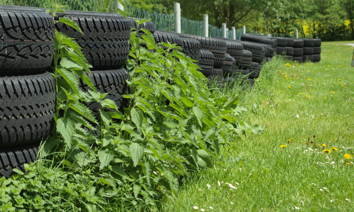 Used Tire DIY Compost Bin
