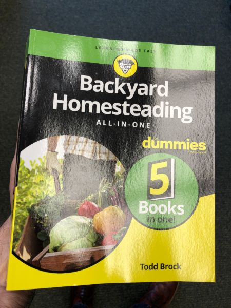 backyard homesteading book